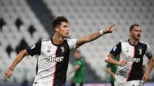 Doppelter Dusel-Elfer! Ronaldo rettet Juve