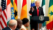 Trump congratulates African leaders: 'I have so many friends going to your countries trying to get rich'