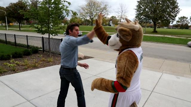 Being Bango the Mascot Means More Than Dressing Up in a Costume