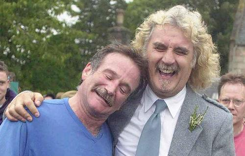 robin williams tried to say goodbye says billy connolly