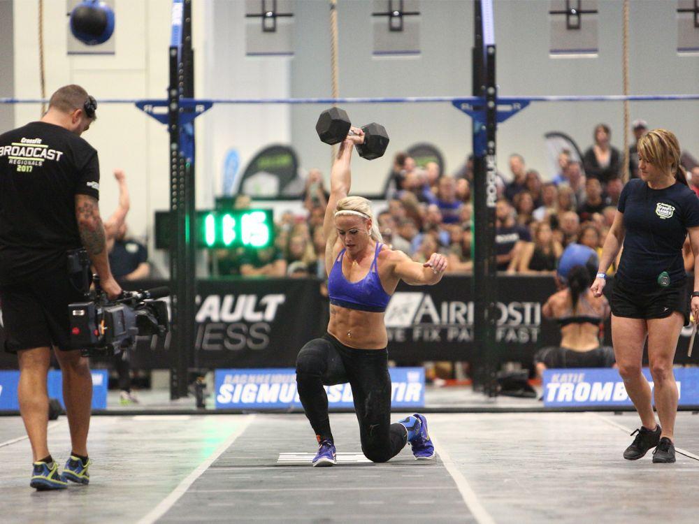 Platz 2 der Frauen: So jung und so sportlich: Die 24-jährige Sara Sigmundsdóttir ist derzeit die drittfitteste Frau auf der Welt. Mal schauen, wie sich die gebürtige Isländerin bei den CrossFit Games 2017 schlägt. (Bild-Copyright: Photo courtesy of CrossFit Inc.)