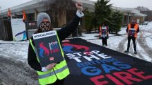 British Gas staff start five-day strike in 'fire and rehire' row