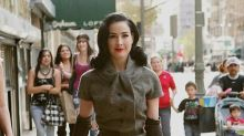 Dita Von Teese: 'I got an email saying: how dare you – that suit was for me!'