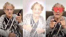 Vó Rosalina: a idosa de 86 anos que bomba no TikTok