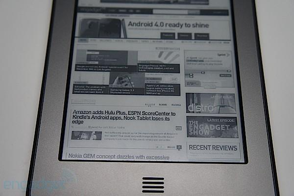 Kindle Touch gets early release in UK and Germany (update)