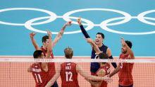 US Men's Volleyball Battles For Quarterfinals Berth Against Argentina