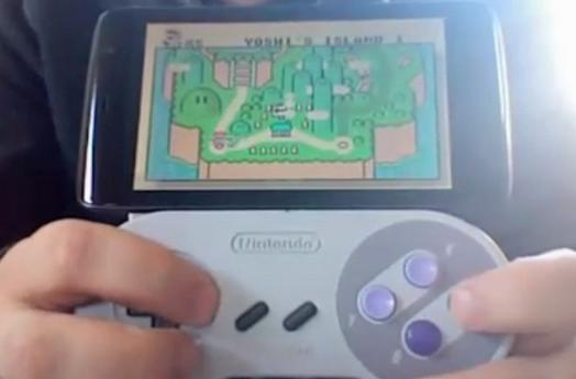 Dell Streak gets SNES controller dock, navigates owner through Yoshi's Island (video)