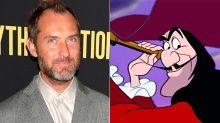 Jude Law será el capitán Garfio en el reboot de Peter Pan que prepara Disney