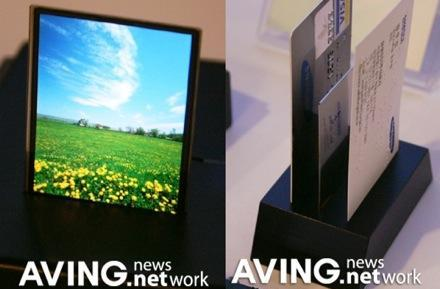 Samsung and LG.Philips announce AMOLED displays