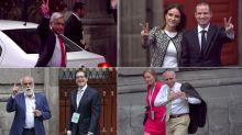 FOTOS | Así llegaron todos al primer debate presidencial