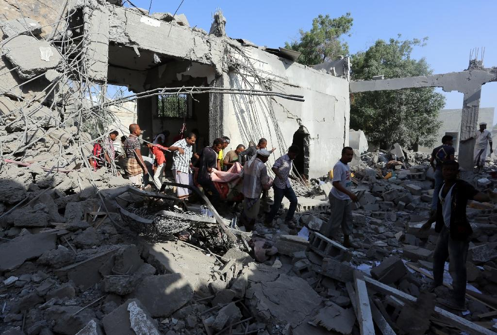 Nearly 7,000 people have been killed since the Saudi-led coalition launched military operations in Yemen in 2015, according to the United Nations