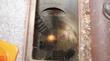 Mother and baby fall 20 ft. into a storm drain, saved by emergency responders