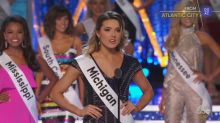 Miss Michigan wins over Miss America viewers by addressing the Flint water crisis