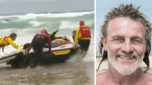 Desperate search for veteran lifesaver missing in wild surf