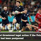 Scotland-Japan to go ahead at World Cup
