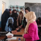 Afghans Vote in Parliamentary Elections Amid Reports of Violence