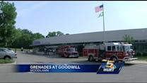 Grenades found at Woodlawn thrift store