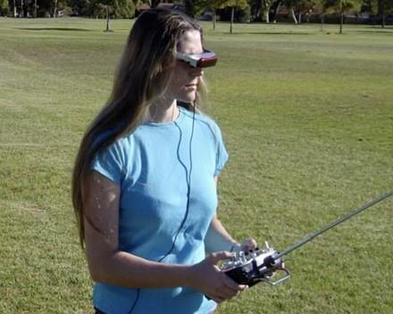 Pilot View FPV 2400 places you within remote-controlled vehicles