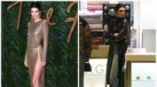 En el McDonald's y con una misteriosa carta de amor: el final de fiesta de Kendall Jenner