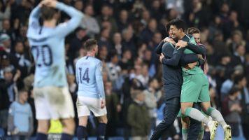 Tottenham advances after video replay reversal