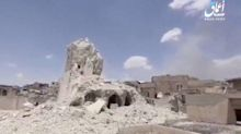 Mosul's 800-year-old Great Mosque of al-Nuri destroyed as Iraqi troops close in on ISIS