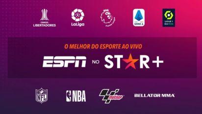 Disney anuncia que nova plataforma de streaming vai transmitir todos os jogos da ESPN ao vivo