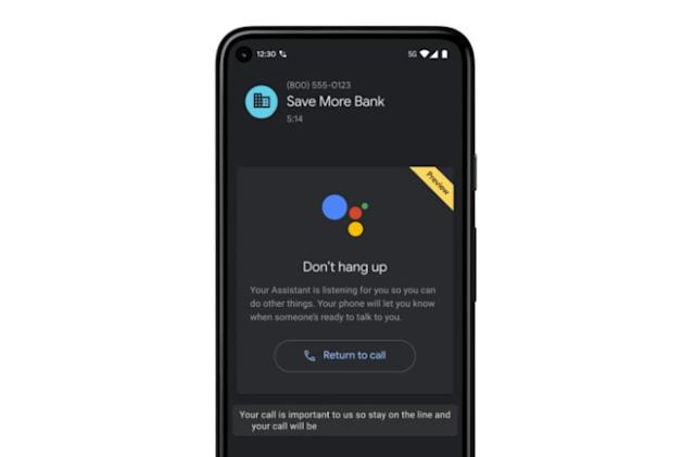 Google's 'Hold for Me' Assistant feature appears first on new Pixel phones