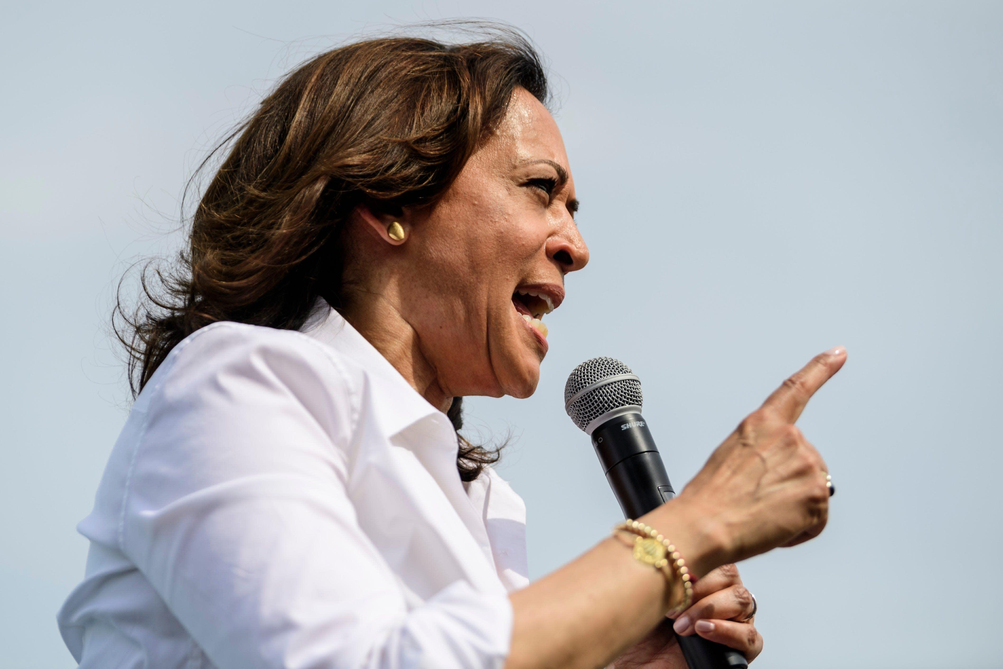 Kamala Harris hits back at NRA after group criticizes her gun control proposals