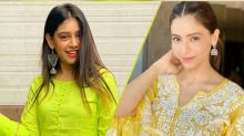 Aamna Sharif Or Niti Taylor, Whose Yellow Ethnic Ensemble Will You Pick For Haldi Ceremony?