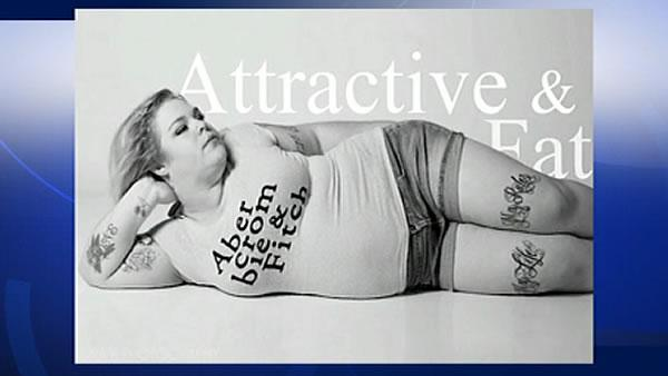 'Attractive & Fat' campaign slams Abercrombie & Fitch