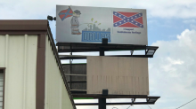 Lewd billboard supporting 'Confederate heritage' pops up on Texas highway: 'It's just disrespectful'