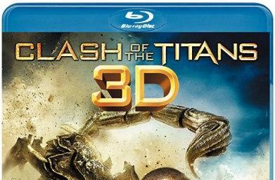 Clash of the Titans Blu-ray 3D dated in Japan, packed in with Aquos 3DTVs