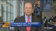 Wilbur Ross says he shorted two more stocks during his time as Commerce secretary