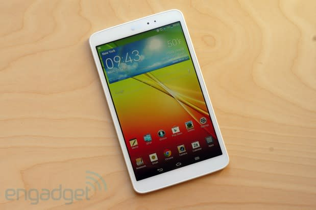 LG G Pad 8.3 review: well-designed, but priced too high