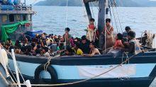 Malaysia detains boatload of 202 presumed Rohingya refugees