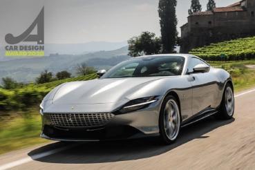 Ferrari全新GT跑車Roma一舉奪下「2020Car Design Award汽車設計大獎」殊榮