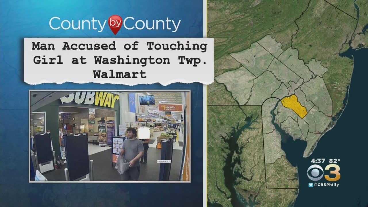 Man Accused Of Touching 10-Year-Old Girl At Washington Township Walmart