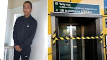 Pictured: Louis Johnson, 16, who was killed outside East Croydon station