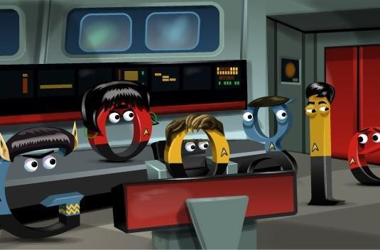Google pays tribute to Star Trek with latest doodle, red shirts still can't catch a break