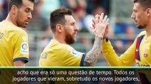 La Liga: Valverde sobre entrosamento de Griezmann, Messi e Suárez: 'questão de tempo'
