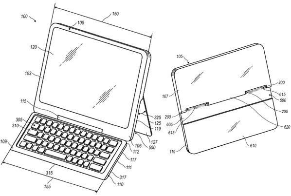 RIM applies for patent on tablet with concealable keyboard, keeps your QWERTY love a secret