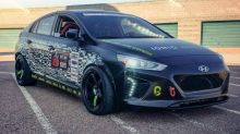201-horsepower Hyundai Ioniq Electric track car is awesome