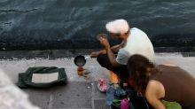 À Venise, faire du café sur un réchaud dans un lieu public coûte très cher