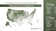 Genworth Cost of Care Survey 2019: Skyrocketing care costs may make the dream of aging at home more challenging