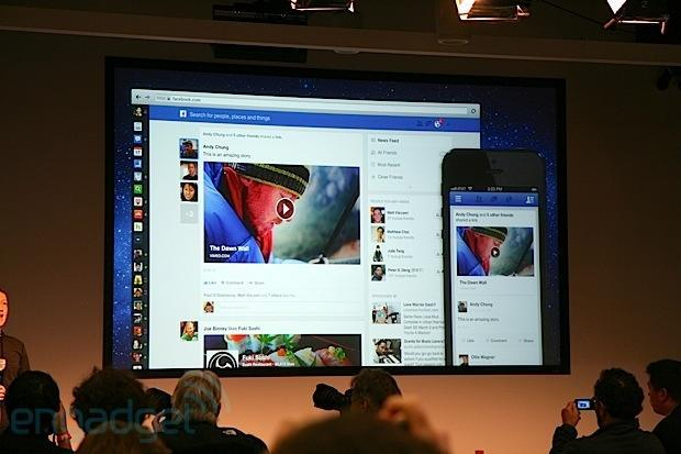Facebook freshens up News Feed, brings bigger images, feed filtering and a uniform cross-platform UX