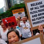 Trump praises China response to Hong Kong protests