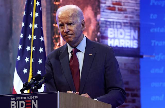 Biden campaign says Facebook is failing to tackle election lies