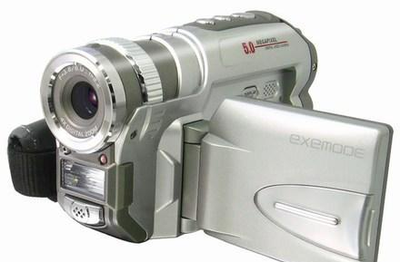 Exemode's budget-friendly DV572 SD camcorder