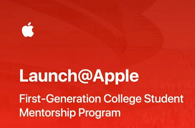 Apple quietly launched a one-on-one college mentorship program