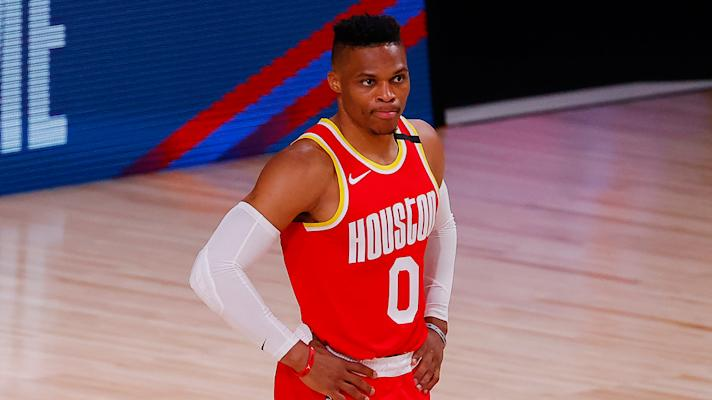 How will Russell Westbrook's absence affect Rockets-Thunder series?